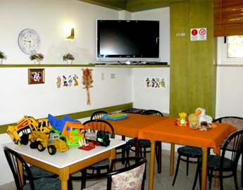 The play area for the youngest